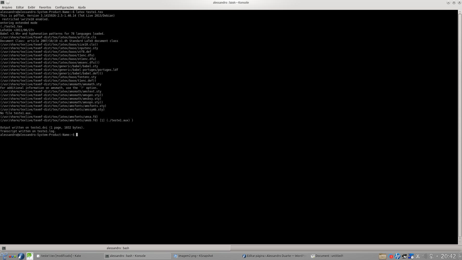 Usando LaTeX no GNU: Editores e IDEs – Alessandro Duarte
